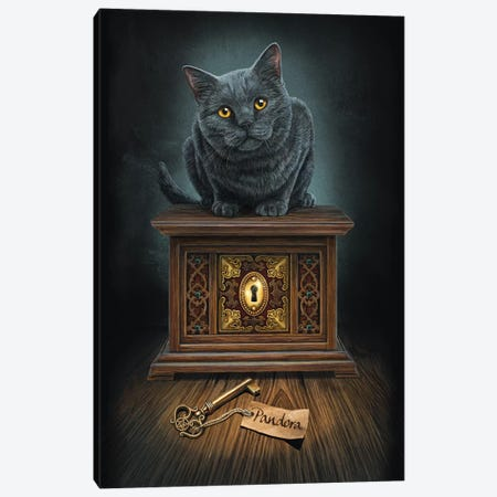Pandora's Box Canvas Print #LPA16} by Lisa Parker Canvas Artwork