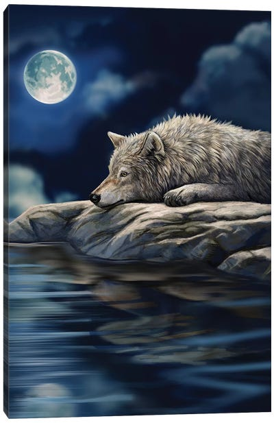 Quiet Reflection Canvas Art Print