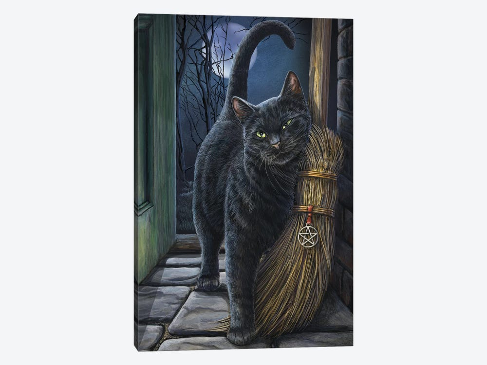 A Brush With Magick by Lisa Parker 1-piece Canvas Art Print