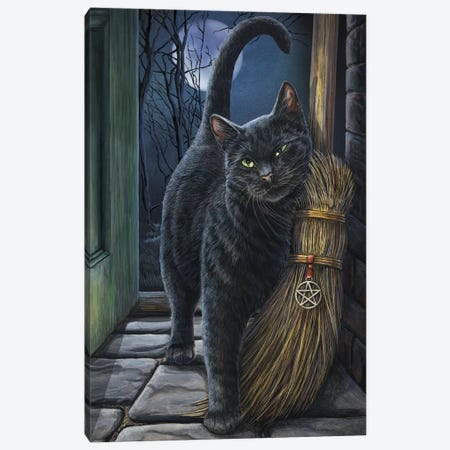 A Brush With Magick Canvas Print #LPA1} by Lisa Parker Canvas Artwork
