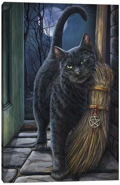 A Brush With Magick Canvas Art Print