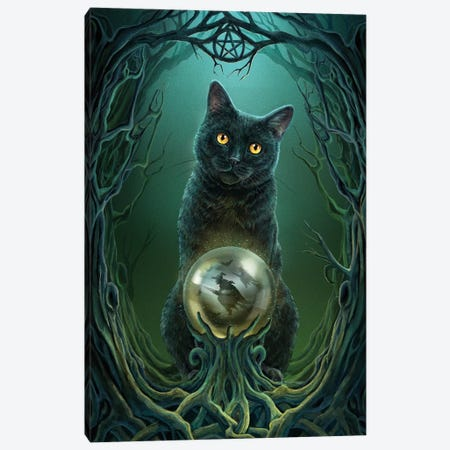 Rise Of The Witches Canvas Print #LPA20} by Lisa Parker Canvas Wall Art