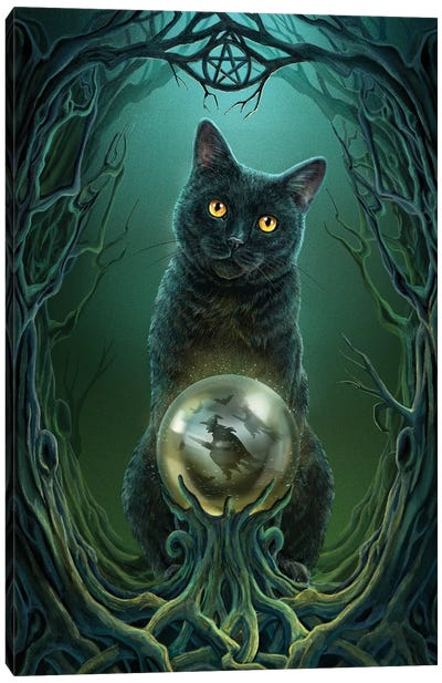 Rise Of The Witches Canvas Art Print