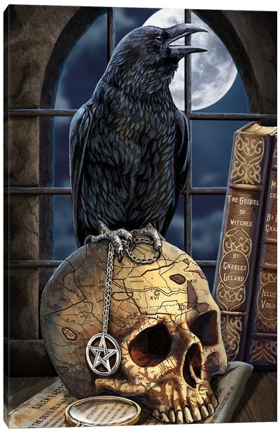 Salem's Familiar Canvas Art Print