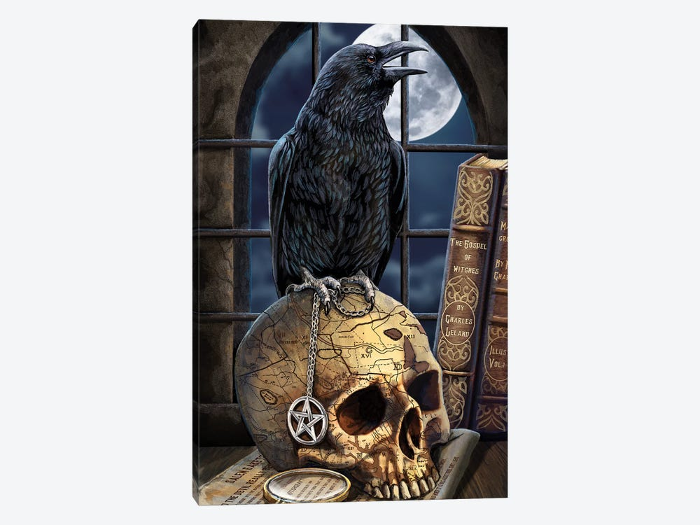Salem's Familiar by Lisa Parker 1-piece Art Print