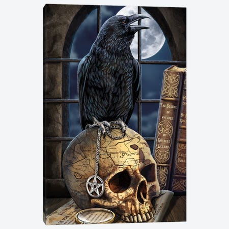 Salem's Familiar Canvas Print #LPA24} by Lisa Parker Art Print