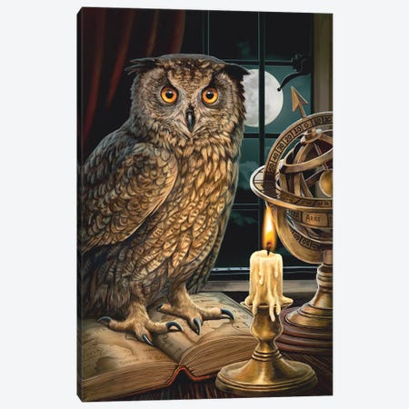 The Astrologer Canvas Print #LPA29} by Lisa Parker Canvas Art
