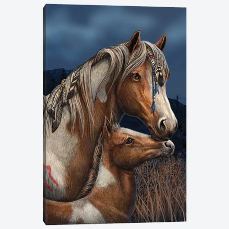 Apache Canvas Print #LPA2} by Lisa Parker Canvas Art