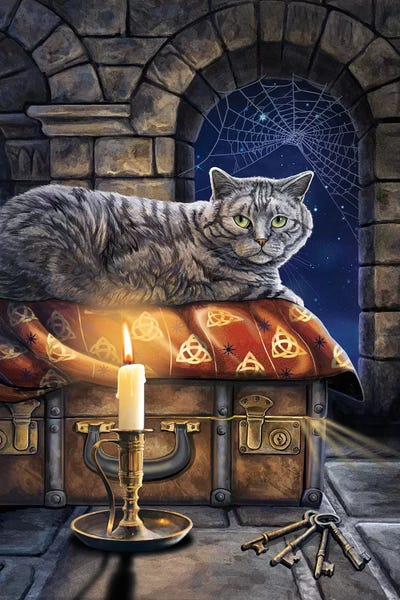 The Keeper Of Secrets Canvas Art By Lisa Parker Icanvas