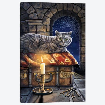 The Keeper Of Secrets Canvas Print #LPA32} by Lisa Parker Canvas Art Print