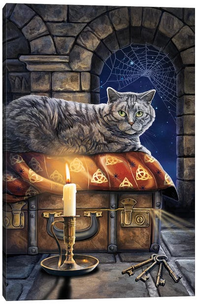 The Keeper Of Secrets Canvas Art Print