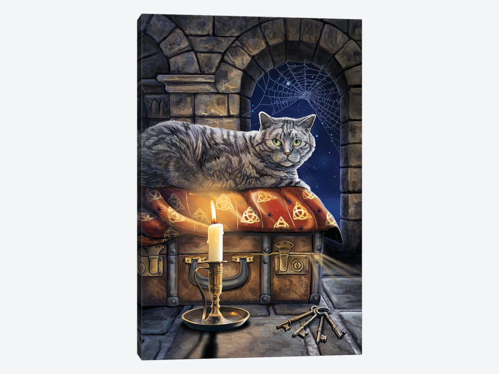 The Keeper Of Secrets by Lisa Parker 1-piece Canvas Artwork