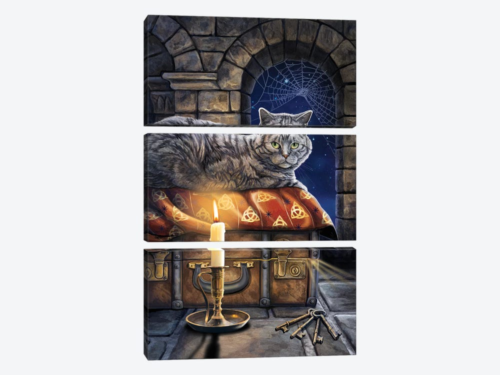 The Keeper Of Secrets by Lisa Parker 3-piece Canvas Artwork