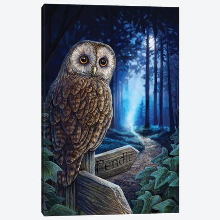 The Way Of The Witch Canvas Print #LPA35} by Lisa Parker Canvas Art