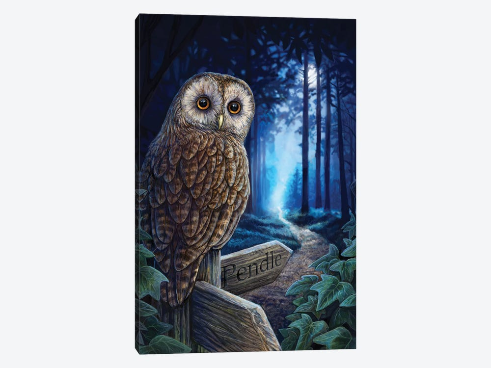 The Way Of The Witch by Lisa Parker 1-piece Canvas Art Print