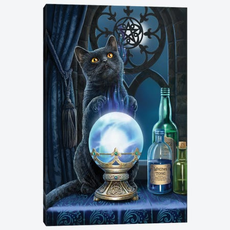 The Witches Apprentice Canvas Print #LPA36} by Lisa Parker Canvas Wall Art