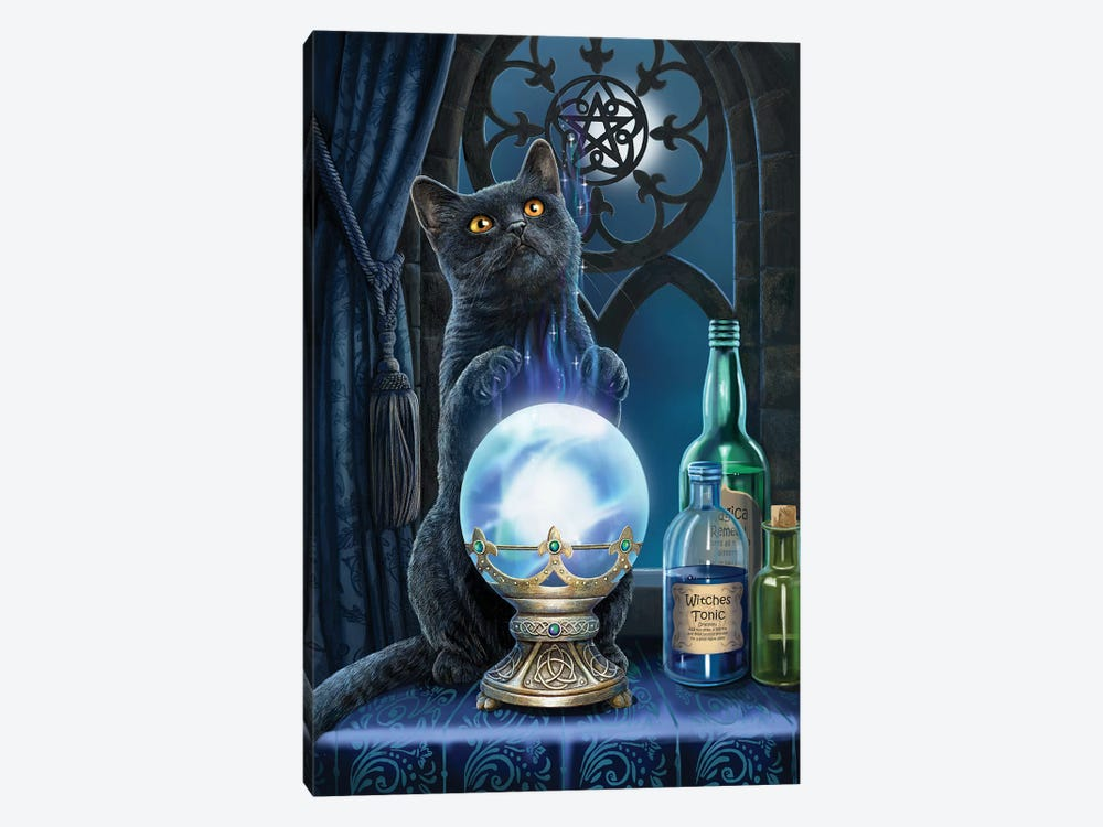 The Witches Apprentice by Lisa Parker 1-piece Canvas Artwork