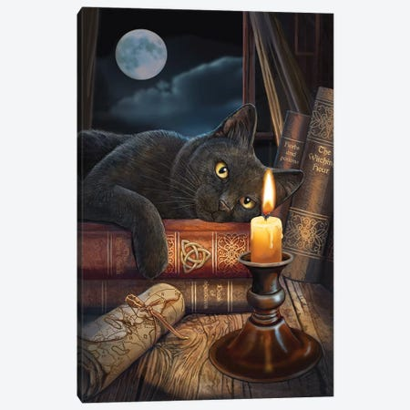 The Witching Hour Canvas Print #LPA37} by Lisa Parker Canvas Wall Art