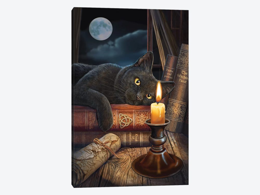 The Witching Hour by Lisa Parker 1-piece Canvas Print