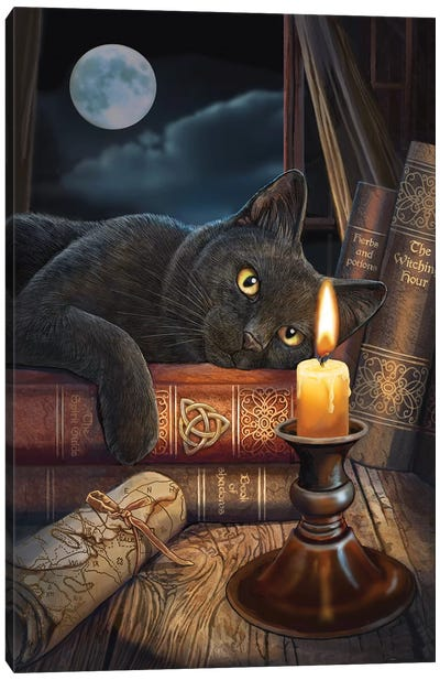 The Witching Hour Canvas Art Print