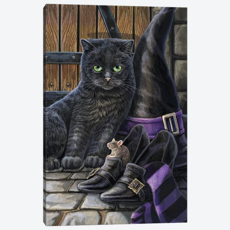 Trouble And Squeak Canvas Print #LPA39} by Lisa Parker Canvas Art Print