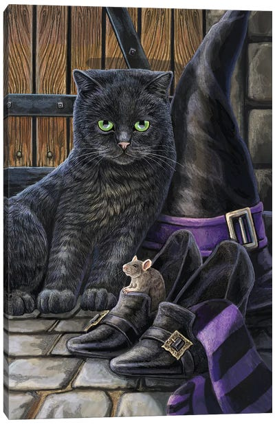 Trouble And Squeak Canvas Art Print