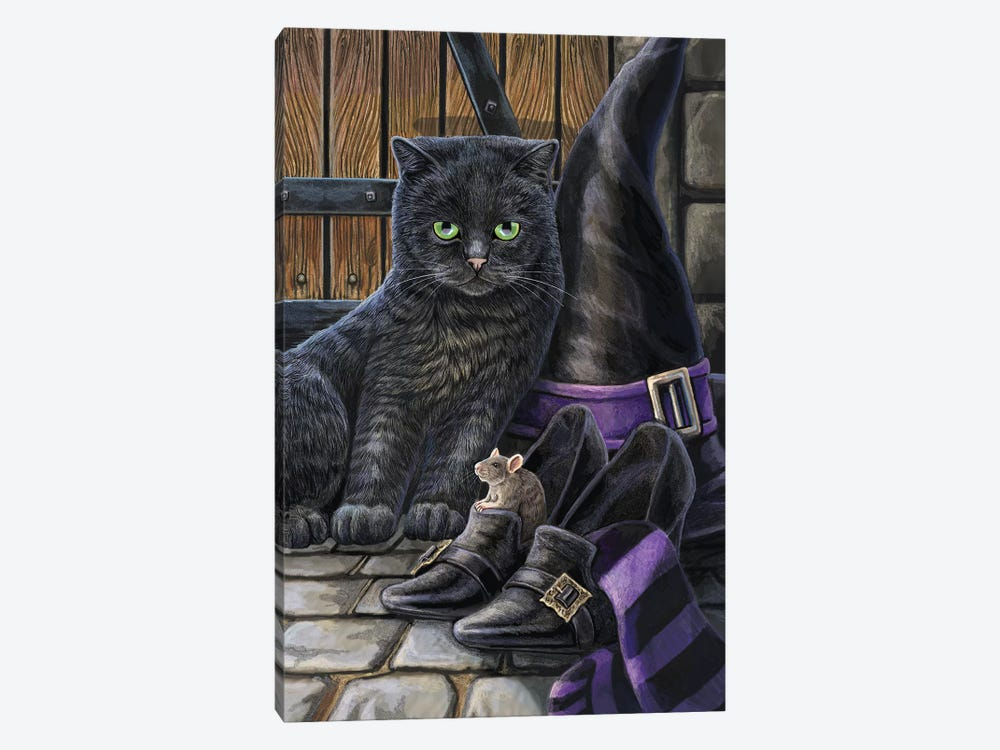 Trouble And Squeak by Lisa Parker 1-piece Canvas Art Print