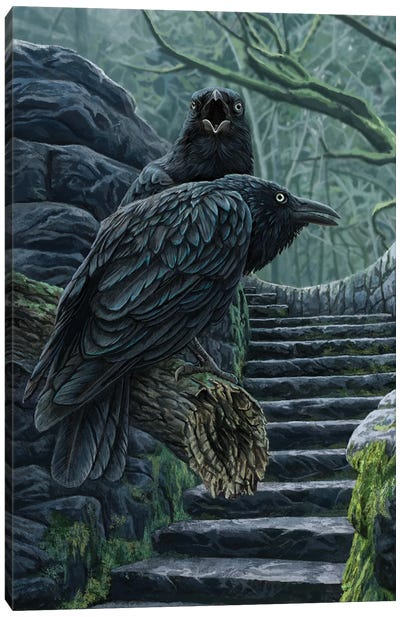 Watchmen Canvas Art Print