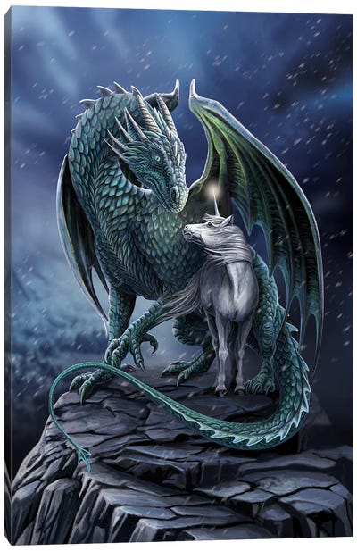 Protector Of Magick Canvas Art Print