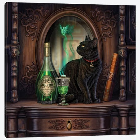 Absinthe Canvas Print #LPA48} by Lisa Parker Canvas Art