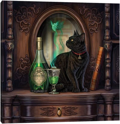 Absinthe Canvas Art Print
