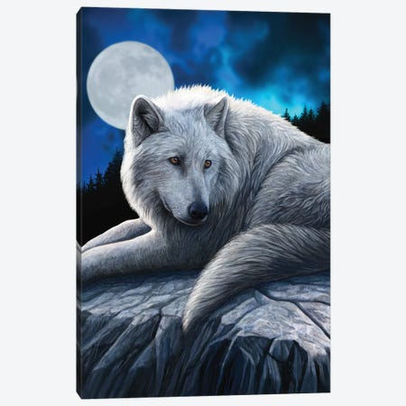 Guardian Of The North Canvas Print #LPA5} by Lisa Parker Art Print