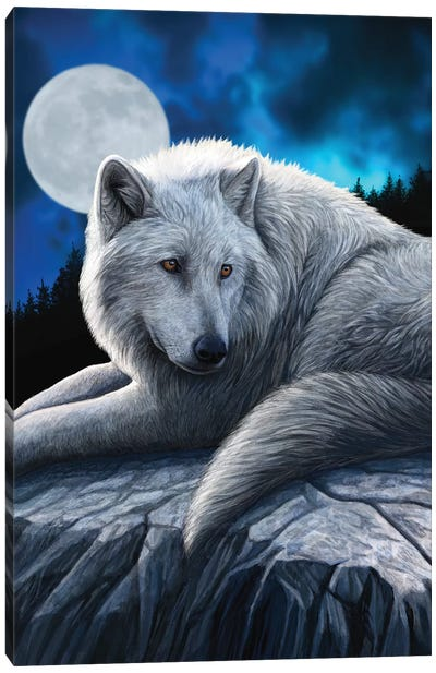 Guardian Of The North Canvas Art Print