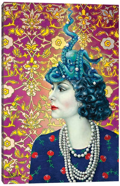 Coco Mademoiselle Canvas Art Print