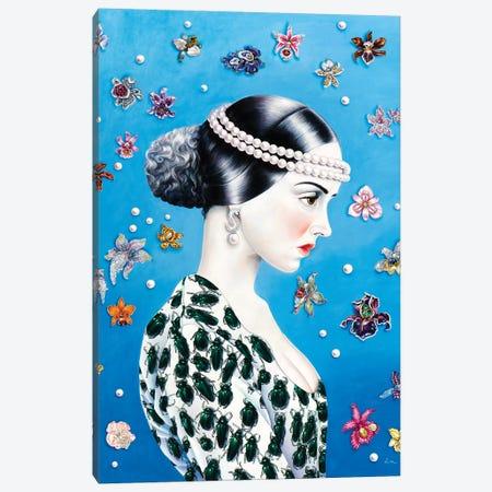 Lily Canvas Print #LPF36} by Liva Pakalne Fanelli Art Print