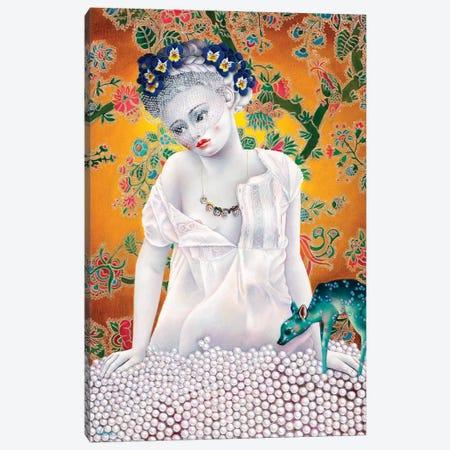 Maia Canvas Print #LPF38} by Liva Pakalne Fanelli Canvas Art