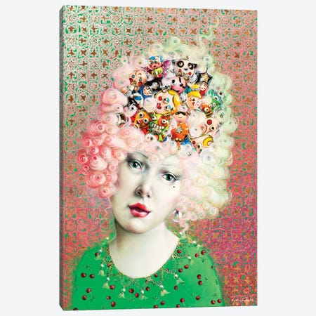Marie Antoinette Canvas Print #LPF39} by Liva Pakalne Fanelli Canvas Art
