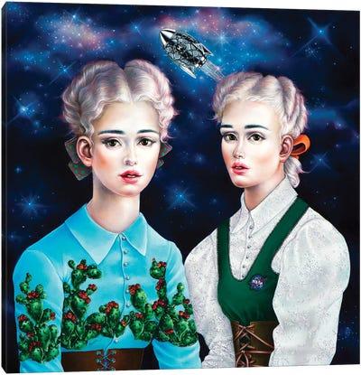 Astronaut's Wives Canvas Art Print
