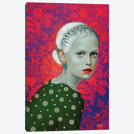 Melancholy Canvas Print #LPF40} by Liva Pakalne Fanelli Art Print