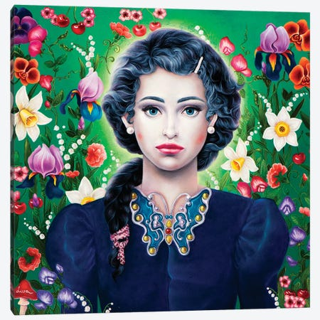 Spring Canvas Print #LPF51} by Liva Pakalne Fanelli Canvas Artwork
