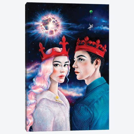 Supreme - Supernova Canvas Print #LPF52} by Liva Pakalne Fanelli Canvas Artwork