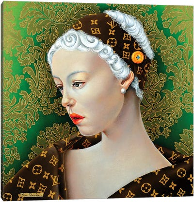 Vuitton Beauty Canvas Art Print
