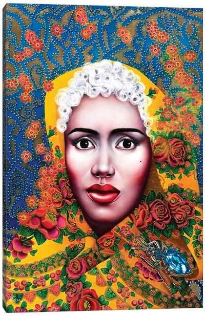 Baroque Grace Jones Canvas Art Print