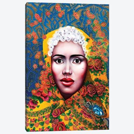 Baroque Grace Jones Canvas Print #LPF58} by Liva Pakalne Fanelli Canvas Wall Art