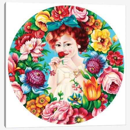 Flowers Fragrance Canvas Print #LPF61} by Liva Pakalne Fanelli Art Print