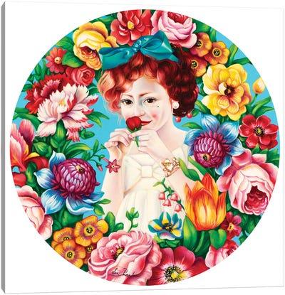 Flowers Fragrance Canvas Art Print