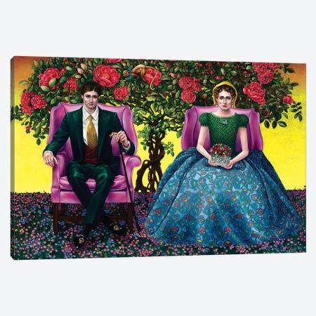La Prima Vera Canvas Print #LPF72} by Liva Pakalne Fanelli Canvas Wall Art
