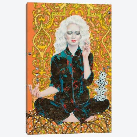 Lotos Position Canvas Print #LPF73} by Liva Pakalne Fanelli Canvas Art