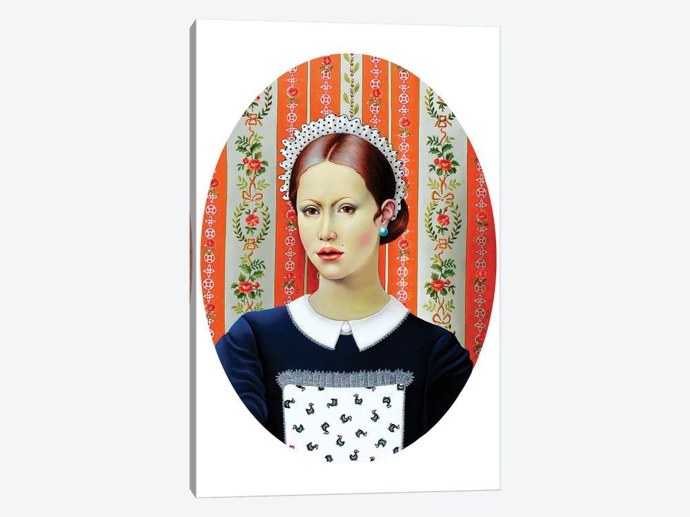 Pretty Waitress by Liva Pakalne Fanelli 1-piece Canvas Art Print