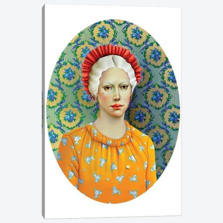 Romantic Girl Canvas Print #LPF80} by Liva Pakalne Fanelli Canvas Art Print